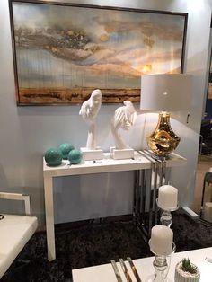 Novedades en muebles auxiliares y complementos para decorar en www.virginia-esber.es