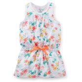 With a cinched waist and adorable bow, she'll love how stylish and tropical this tunic makes her feel. Wear it over neon leggings for an all-around bright look!<br>