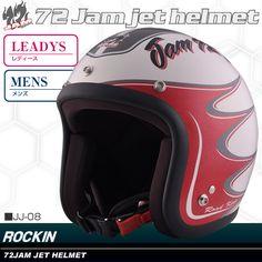 72JAM JET RODKIN ジェットヘルメット JJ-08 /女性用/レディース/バイク/ジェットヘルメット/オープンフェイスヘルメット/72 JAM HELMET/72ジャムヘルメット/ジェット【楽天市場】