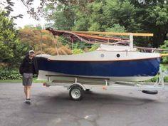PocketShip: 15-foot Fast-Sailing Pocket Cruiser with Sitting Headroom and 8-foot Berths! Pocket Ship Plans