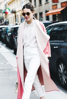 How the Best Dressed Girls Will Stand Out This Fashion Week via @WhoWhatWear