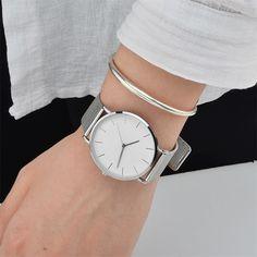 7e3c777ed8 montre femme bracelet acier 01 Montre Femme Bracelet Acier, Bijoux Montre,  Cadeaux Bijoux,