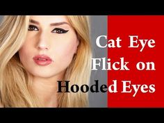 CLOSE SET EYES makeup tutorial with EYELINER for HOODED eyelid - YouTube