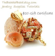 Gift Certificate for The Beaded Bead  Twenty by TheBeadedBead, $20.00 Gift Certificates are available in any dollar amount.