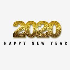 Szczęśliwego Nowego Roku 2020 wektor i png New Year Pictures, Happy New Year Images, Happy New Year Greetings, New Year Greeting Cards, Happy New Year 2019, Happy Chinese New Year, Happy Year, Merry Christmas And Happy New Year, New Year 2020