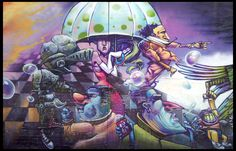 Super Cool Grafitti in Mexico City