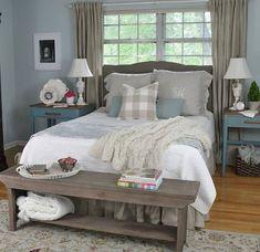 Gorgeous Rustic Farmhouse Master Bedroom Ideas 40