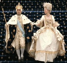 Marie Antoinette's Costume at Louis XVI's coronation making her the Queen of France.