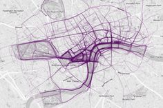 London Map by running routes