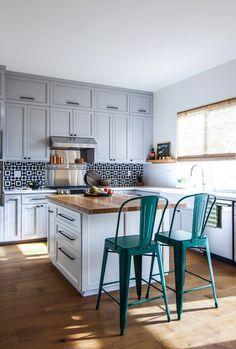 Check on www.prettyhome.org - tiny kitchen renovat