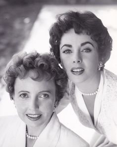 Like Mother, Like Daughter: Sara Taylor and her daughter, Elizabeth Taylor