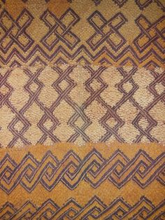 African Tribal Kuba Cloth Cut Pile And Raffia Prestige Cloth Textile Currency DRC Zaire N23 by EthosEthnicArt on Etsy