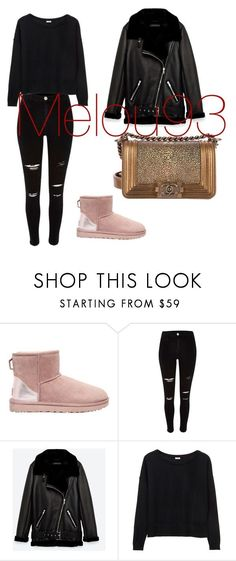Sans titre #136 by hyndmeriem on Polyvore featuring mode, UGG, River Island, Jakke et Chanel Cute Swag Outfits, Cute Summer Outfits, Work Outfits, New Outfits, Spring Outfits, Winter Outfits, Casual Outfits, New York Fashion, Teen Fashion