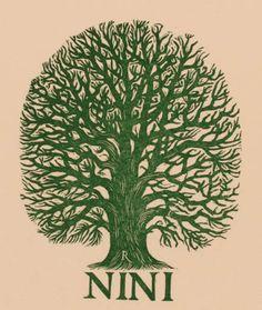 Art-exlibris.net - exlibris by Pam Georg Rueter for Nini Rueter-Oldenboom