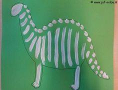 Dit knutselwerkje is maar 1 van de vele die we hebben in het thema dinos, bezoek Juf Milou voor nog meer knutselwerkjes. Dinosaur Crafts, Dinosaur Stuffed Animal, Museum, Activities, Animals, Dinosaur Projects, Animales, Animaux, Animal