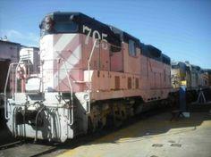 Pink train ..jikes!