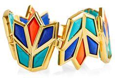 Lotus Bracelet, Aegean Blue on OneKingsLane.com
