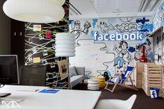 Colorful & multiethnic Facebook HQ in Warsaw   Design Diffusion - Design Projects