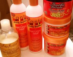 Natural Products | FabEllis: Natural Hair: What Products Do You Use? [Part 2]