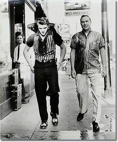 Dewey Phillips and Elvis Presley : Memphis : June 14, 1956