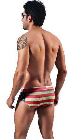 Clever 0560 American Flag Swimbrief