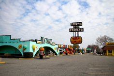 Treats 5x7 color photograph of the ice cream shop at