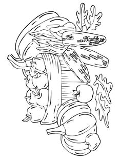 coloring page Autumn - Autumn