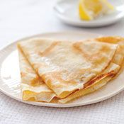 Crêpes with Sugar and Lemon Recipe at Cooking.com