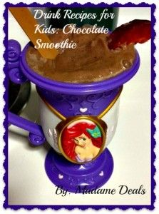 Kids Drink Recipes: Chocolate Smoothie