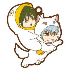 AmiAmi [Character & Hobby Shop]   Rubber Mascot Buddy Colle - Gintama: Aitsu to Ore 6Pack BOX(Pre-order)
