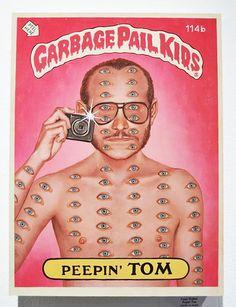 Garbage Pail Kids - Peppin'Tom