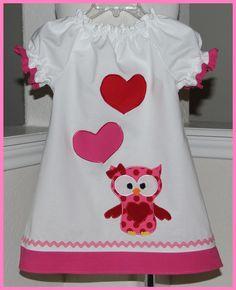 Valentines peasant dress.