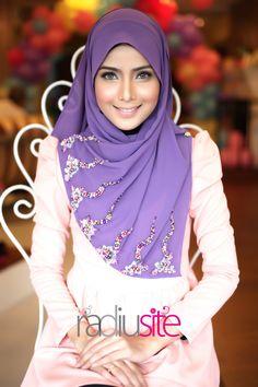 purple - she's beautiful