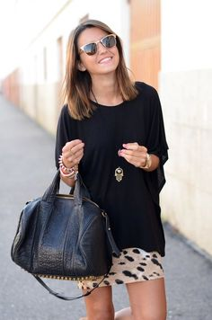Leopard and Black...