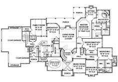 2 story foyer, grand staircase, butler's pantry, music room grand room with fireplace, dining room with fireplace Luxury Floor Plans, Luxury House Plans, Dream House Plans, House Floor Plans, Bedroom With Bath, Men Bedroom, French Mansion, Dining Room Fireplace, Driveway Design