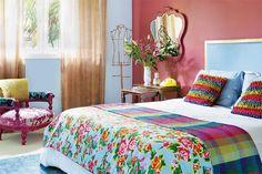 Resultado de imagem para cortinas coloridas cozinha de roça