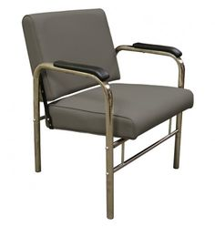 Alluvia Premium Auto Recline Shampoo Chair in Gray