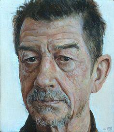 Stuart Pearson Wright - Portrait of John Hurt