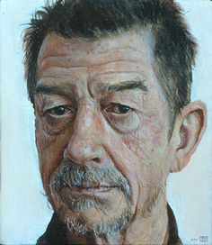 Stuart Pearson Wright painting of John Hurt
