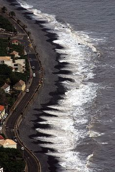 Sea jaws, Madalena do Mar, Madeira, Portugal
