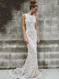 The kind of dress I'd wanna get married in