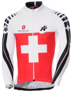 Assos Swiss Federation Long Sleeve Jersey - Competitive Cyclist Road Bike  Jerseys 58e0dab60
