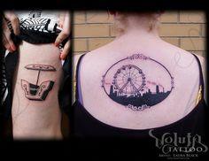 Taylor kabeary on pinterest for Ferris wheel tattoo