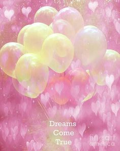 Image via We Heart It https://weheartit.com/entry/152115920 #balloons #beautiful #dreams #hearts #pink