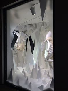 Joseph Fashion, London // Christmas in collaboration with Harlequin Design // November 2014
