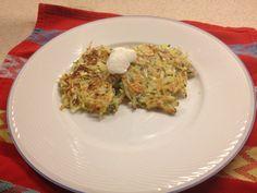 Zucchini – Potato- Feta Pancakes