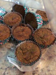Muffins de camote amarillo
