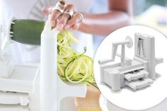 The Global Girl's Top 5 Raw Vegan Kitchen Essentials: The paderno spiralizer is honestly the single most transformative kitchen toy you could even get, simply because substituting veggie-based pasta for the gluten-laden versions is enough to jumpstart anyone's health and beauty transformation.