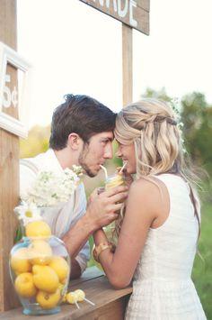 Ali Sinor Austin Renda Engagement Photos Captured By Belinda- bridesmaid hair idea