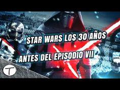 Toda la historia entre los Episodios VI y VII Star Wars (30 años en 30mi...